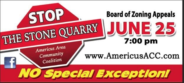 Americus Area Community Coalition Billboard