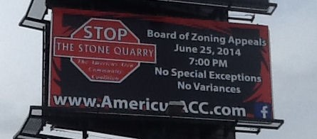 AACC Billboard on SR38