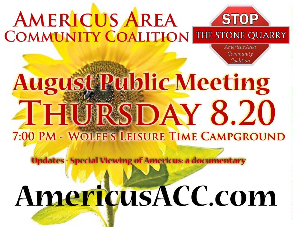 AACC August 2015 Public Meeting