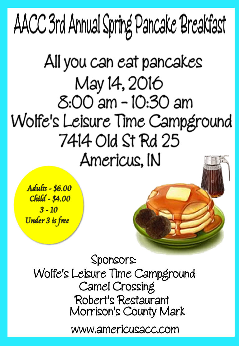 AACC 3rd Annual Pancake Breakfast