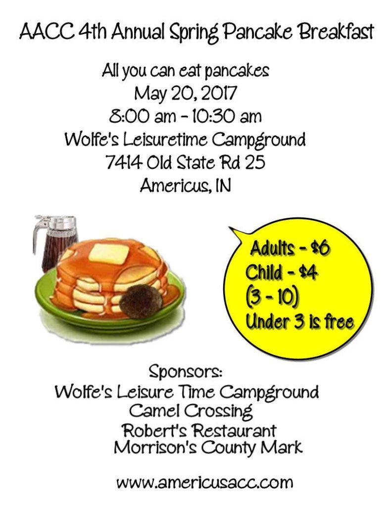 AACC Pancake Breakfast 2017